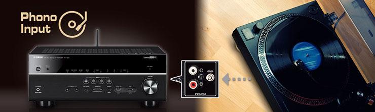 Anslut din skivspelare till Phono-ingången så kan du lyssna på din LP  samling i det rummet förstärkaren står eller skicka ljudet vidare till en  annan ... 57cee10291ade