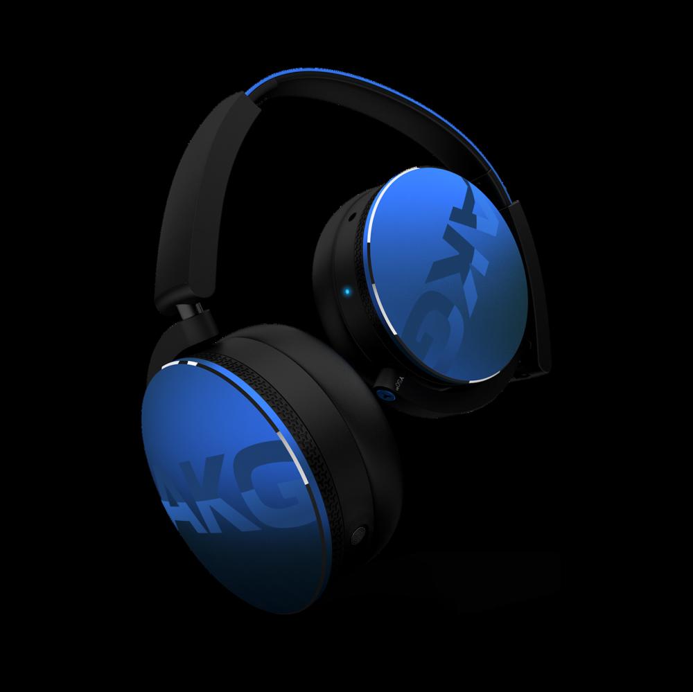 AKG Y50BT Blå