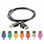Kramer HDMI Pico Ultra-slim kabel med ethernet Rosa