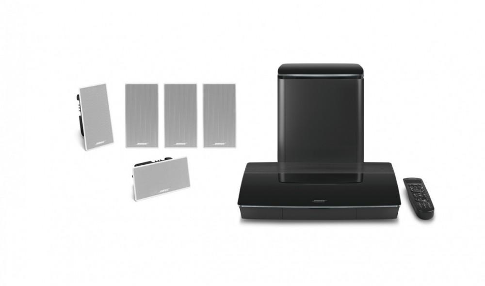 Bose Lifestyle 600 In-Wall underhållningssystem Svart