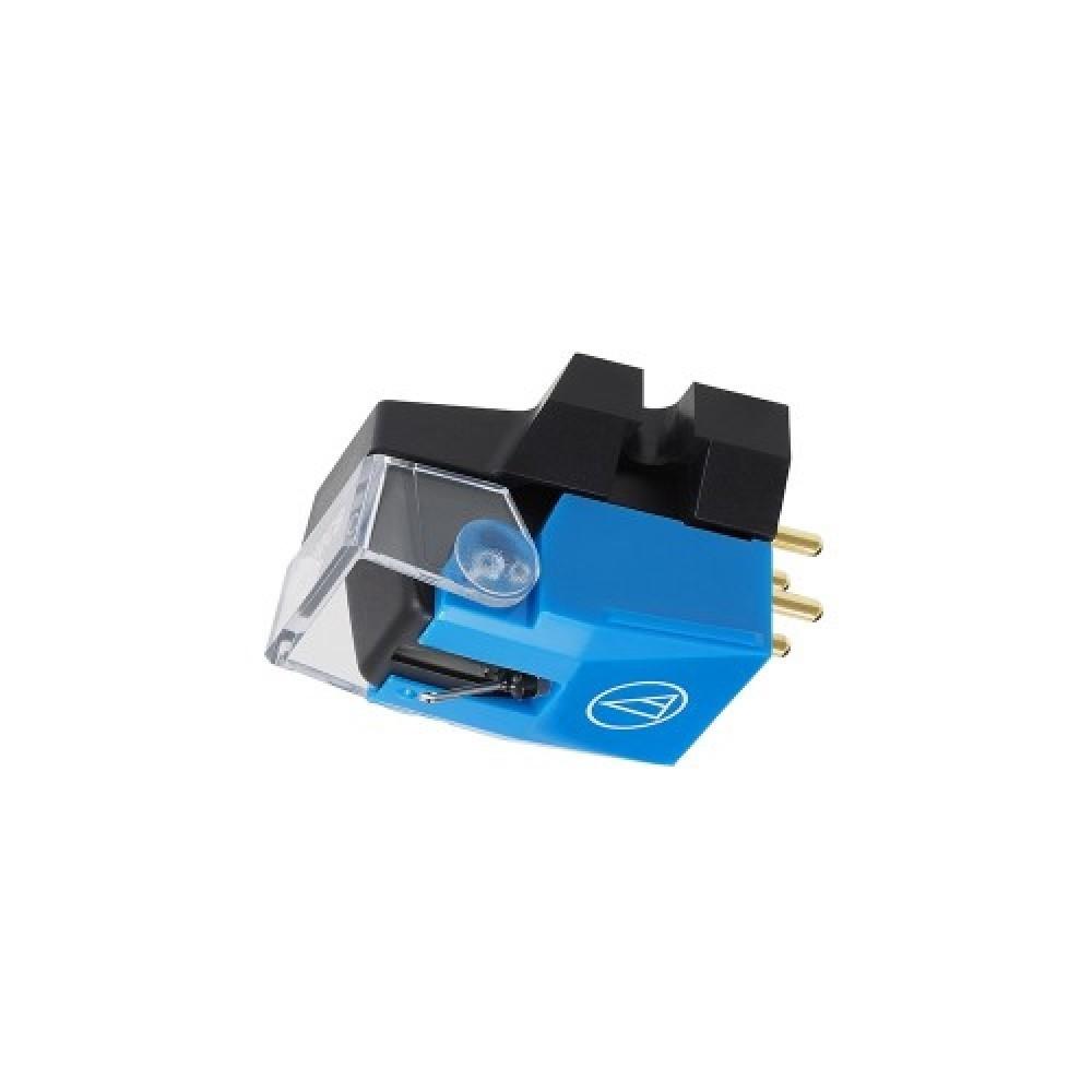 Audio Technica VM500-serien (pickuper) VM510CB: Konisk nål, ljusblå