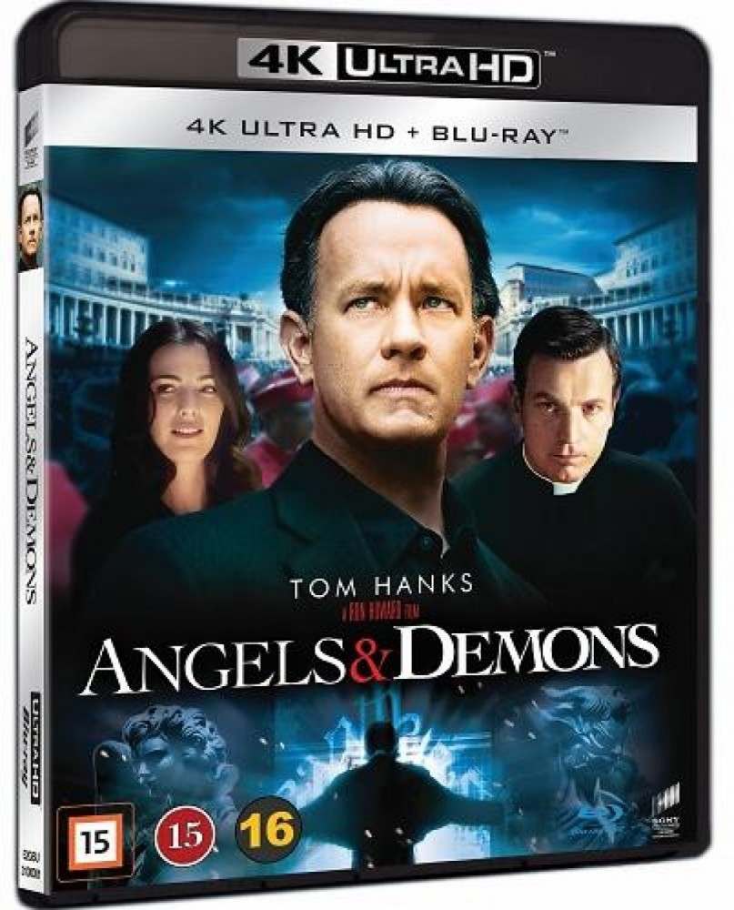 Angels & Demons (4k) (UHD)