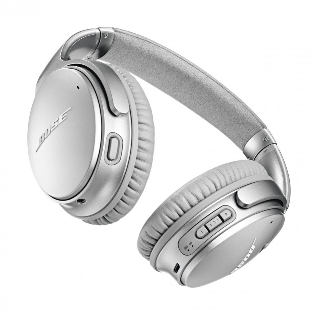 Bose QuietComfort 35 II trådlösa hörlurar Silver