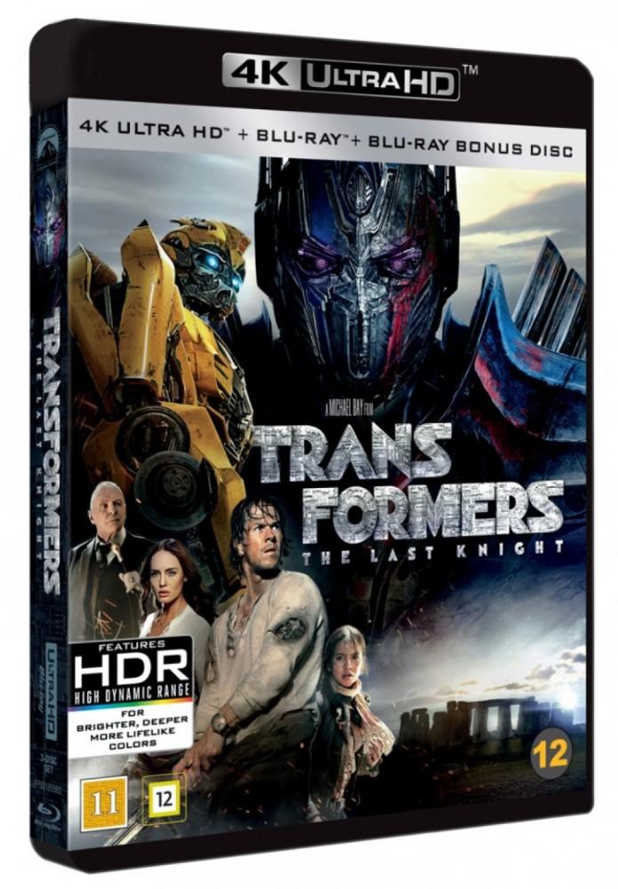 Transformers 5 - The Last Knight (4k) (UHD)