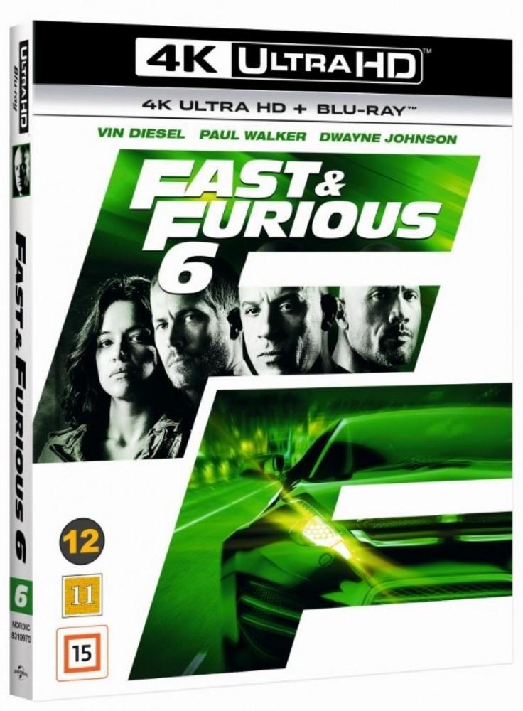 Fast & Furious 6 (4k) (UHD)