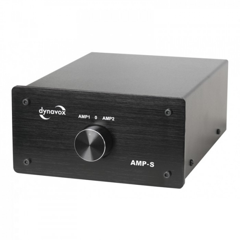 Dynavox AMP-S Förstärkarväxel Svart