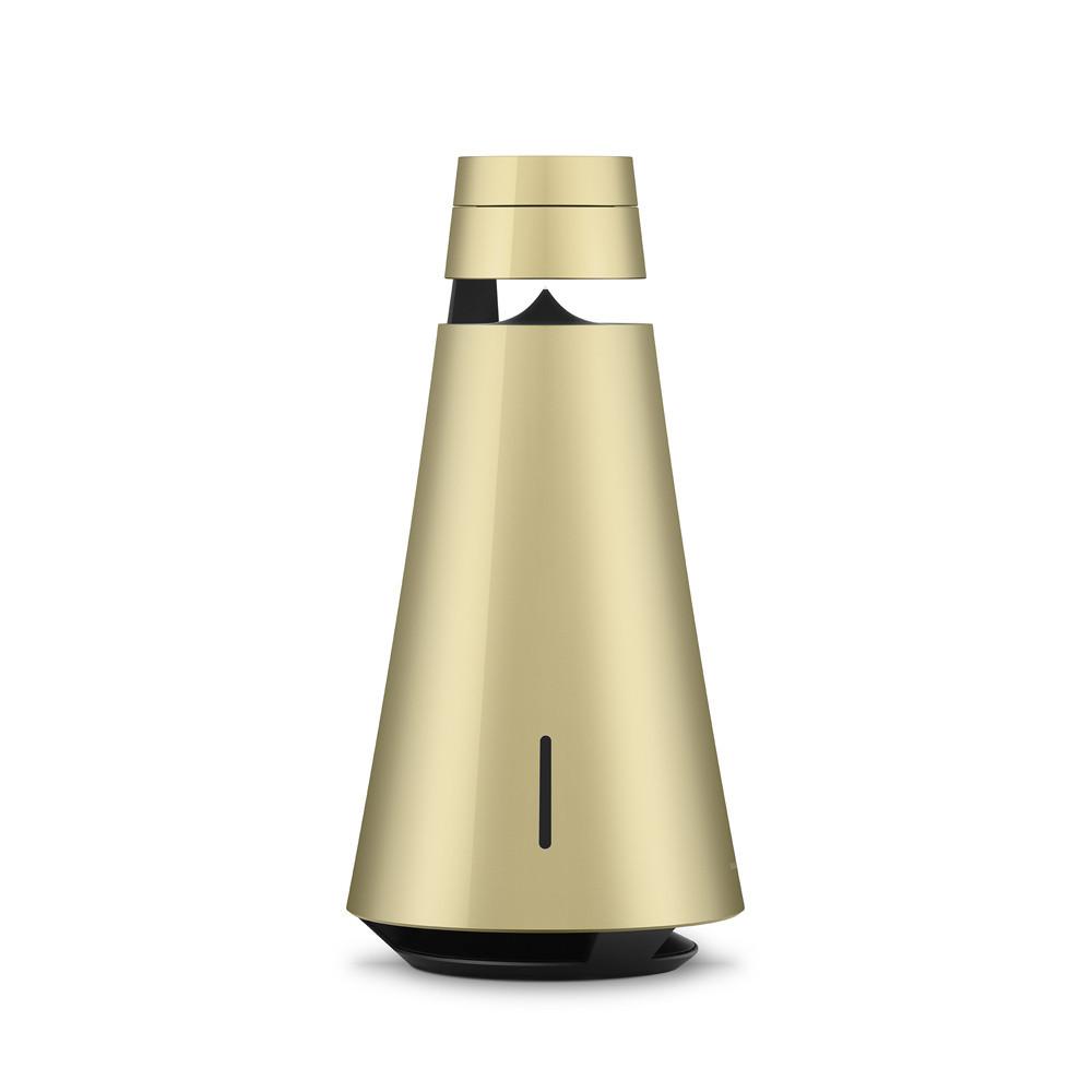 Bang & Olufsen Beosound 1 (2nd Gen) med Google Voice Assistant Brass Tone