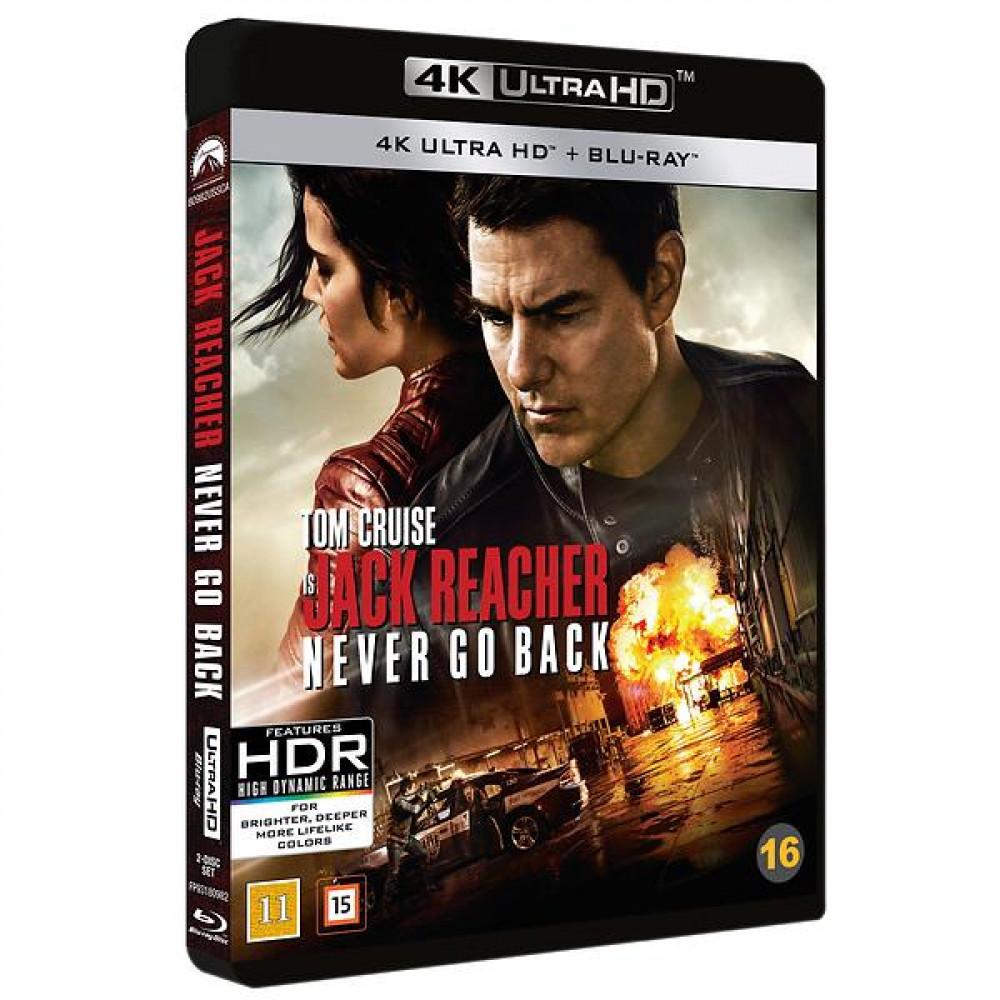 Jack Reacher 2 - Never Go Back (4k) (UHD)