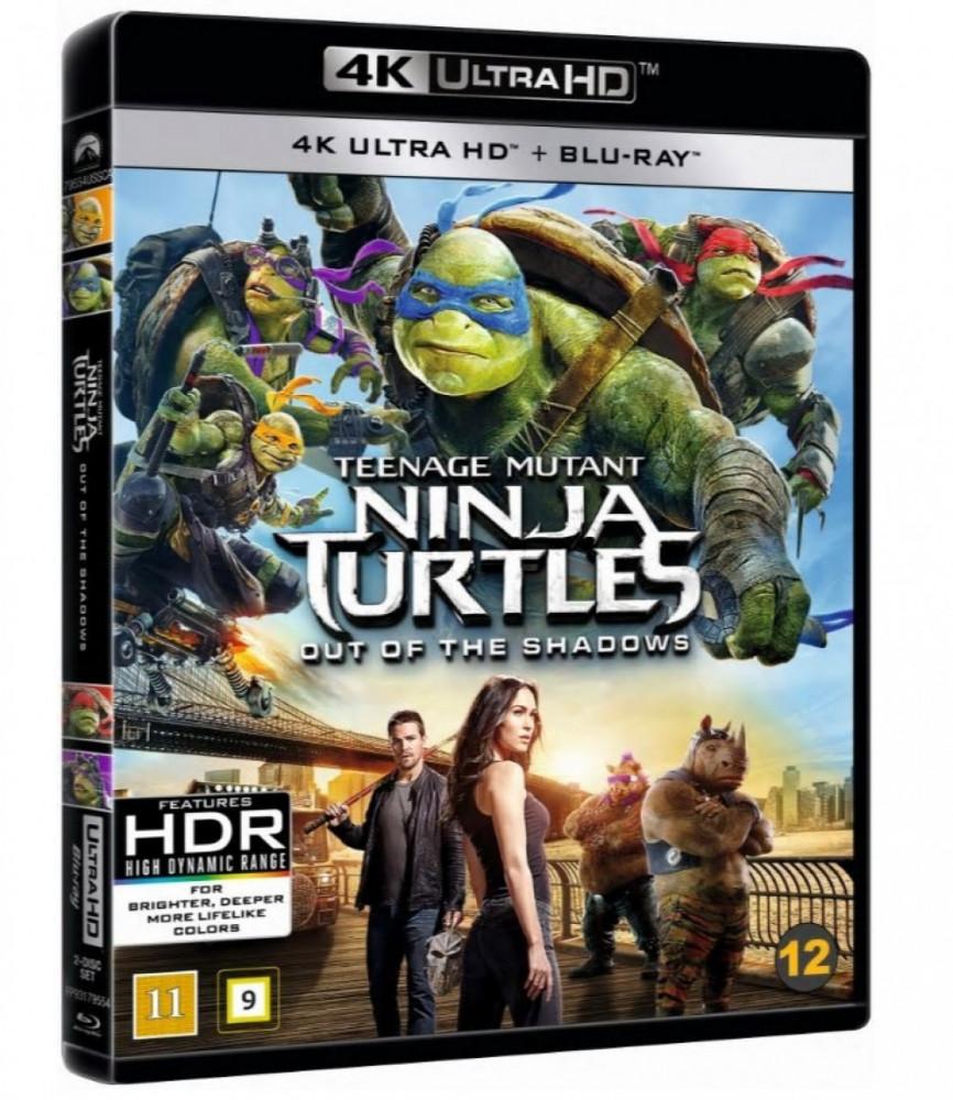 Teenage Mutant Ninja Turtles - Out Of The Shadows (4k) (UHD)