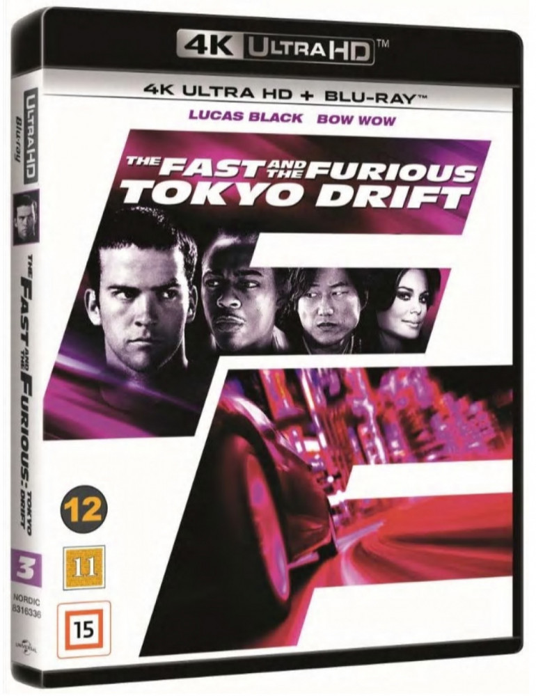 The Fast And The Furious: Tokyo Drift (4k) (UHD)