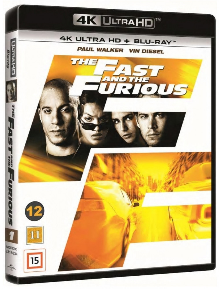 The Fast And The Furious (4k) (UHD)