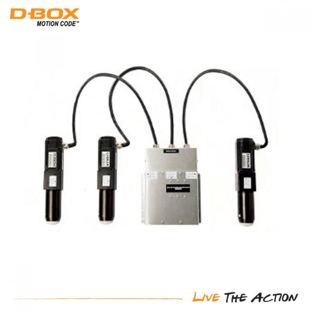 D-BOX Actuator Kit, 3 Axlar