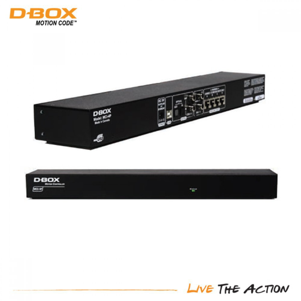 D-BOX Motion Controller MCI-4P