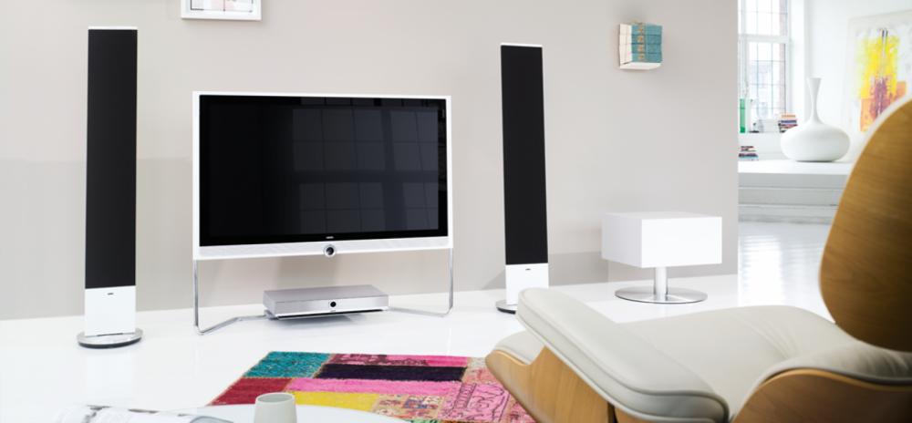 loewe individual sound stand speaker sl tele h radio tv. Black Bedroom Furniture Sets. Home Design Ideas