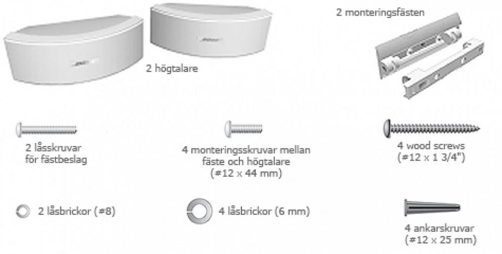 Produktbeskrivning FAQ Specifikationer Alla tillbehör. Våra mest populära  utomhushögtalare. Bose 151 ... 0b6126ebe45f6
